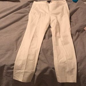 White Jcrew MARTIE pants - NEW WITHOUT TAGS.